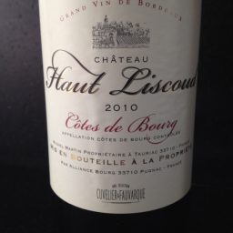 Chateau Haut Liscoud Red Wine 750ml