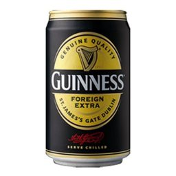 Guinness Extra Stout Can 33cl